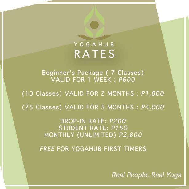 Yogahub-cebu-price