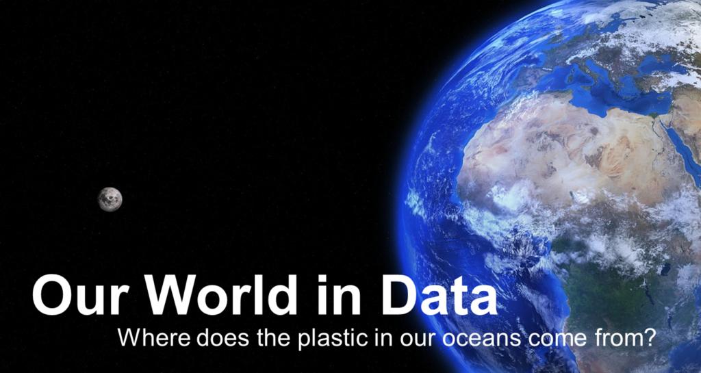 Our World in Data 海洋のプラスチックごみについて